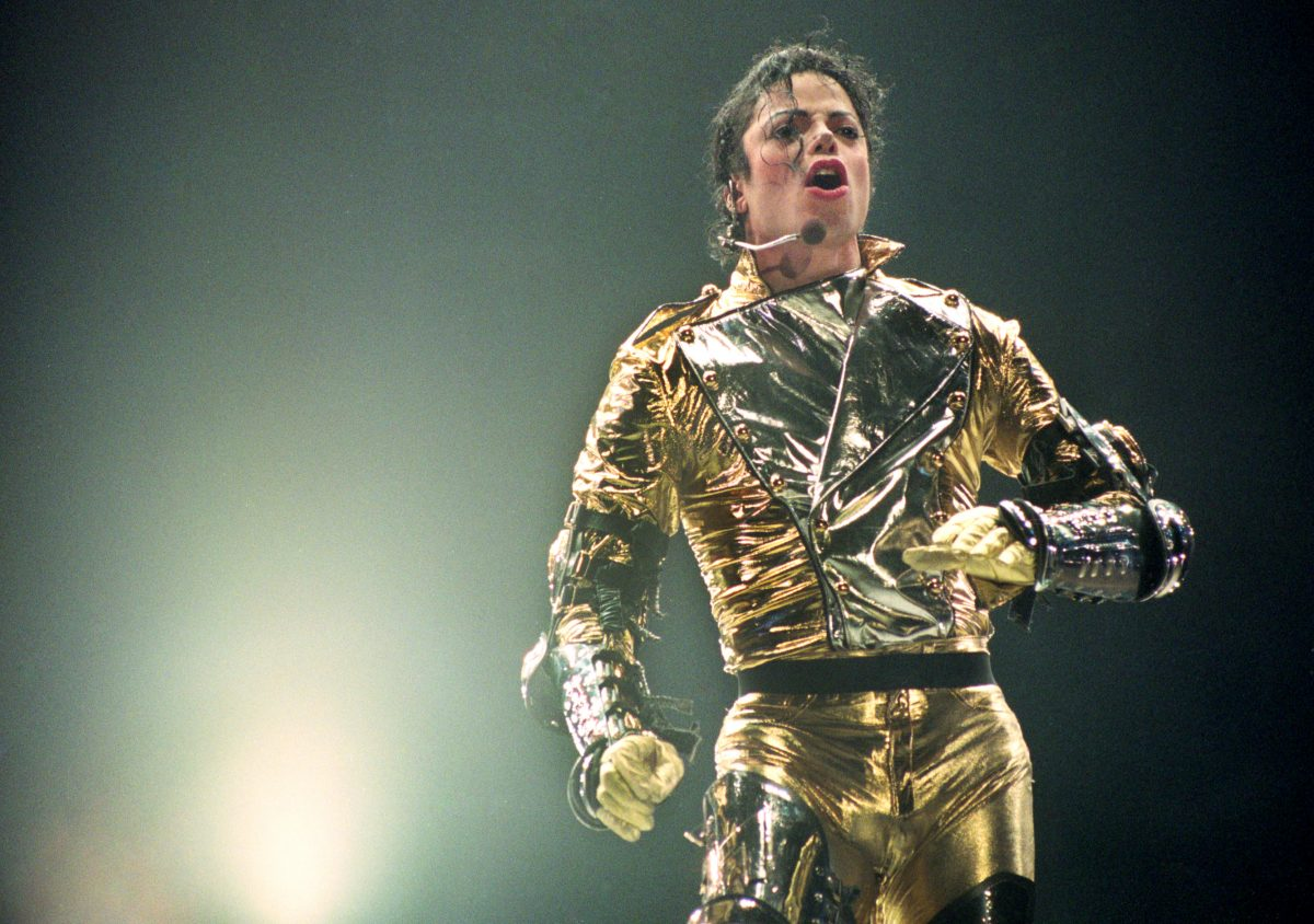 Michael Jackson performing in New Zealand