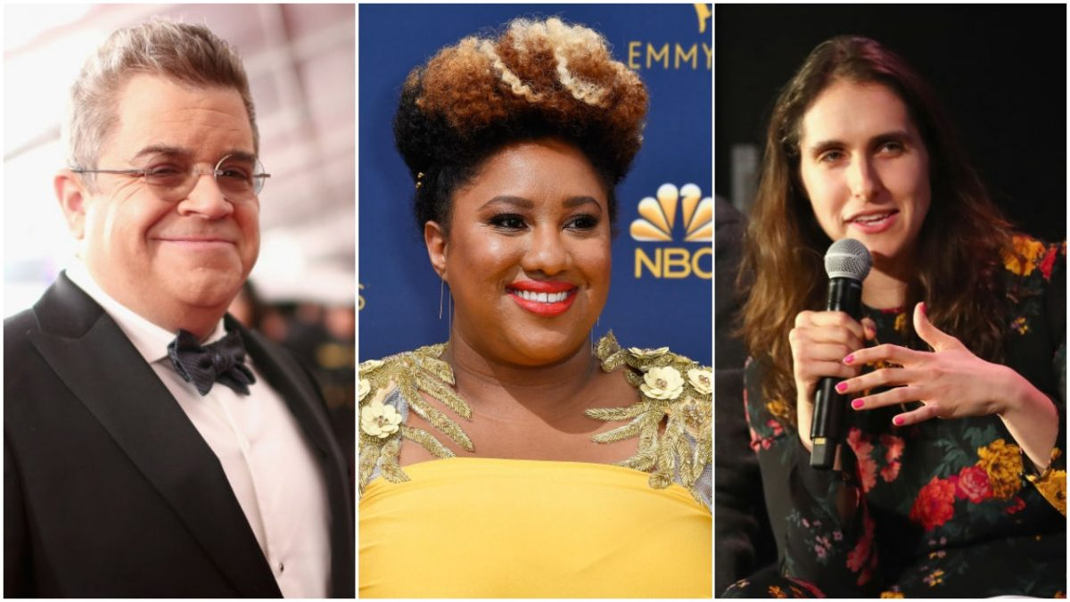 Patton Oswalt, Ashley Nicole Black, and Megan Amram, all of whom have fired their agents this weekend.