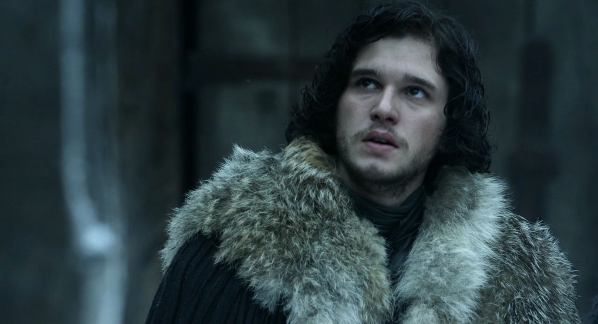 Jon Snow (Kit Harrington) knows nothing in Game of Thrones.