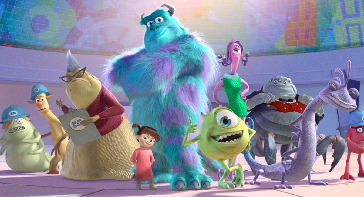 The cast of Pixar's classic Monster Inc.