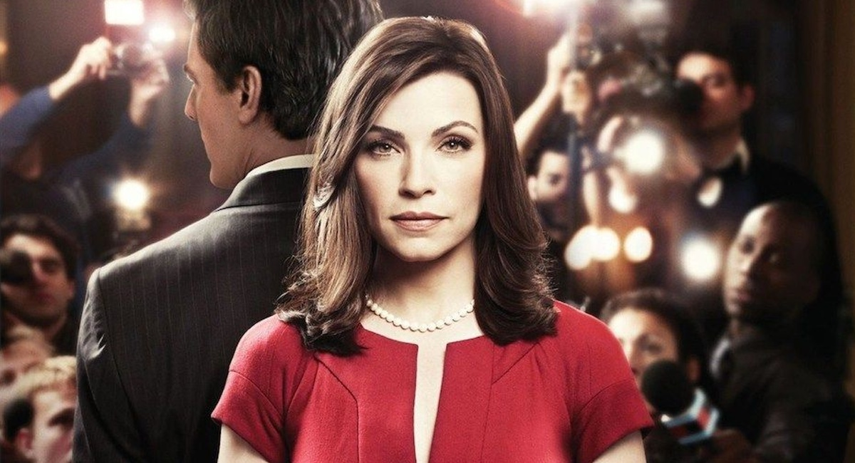 Julianna Margulies, star of The Good Wife, in the first season poster for the series.