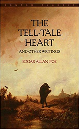 The Tell-Tale Heart book cover.