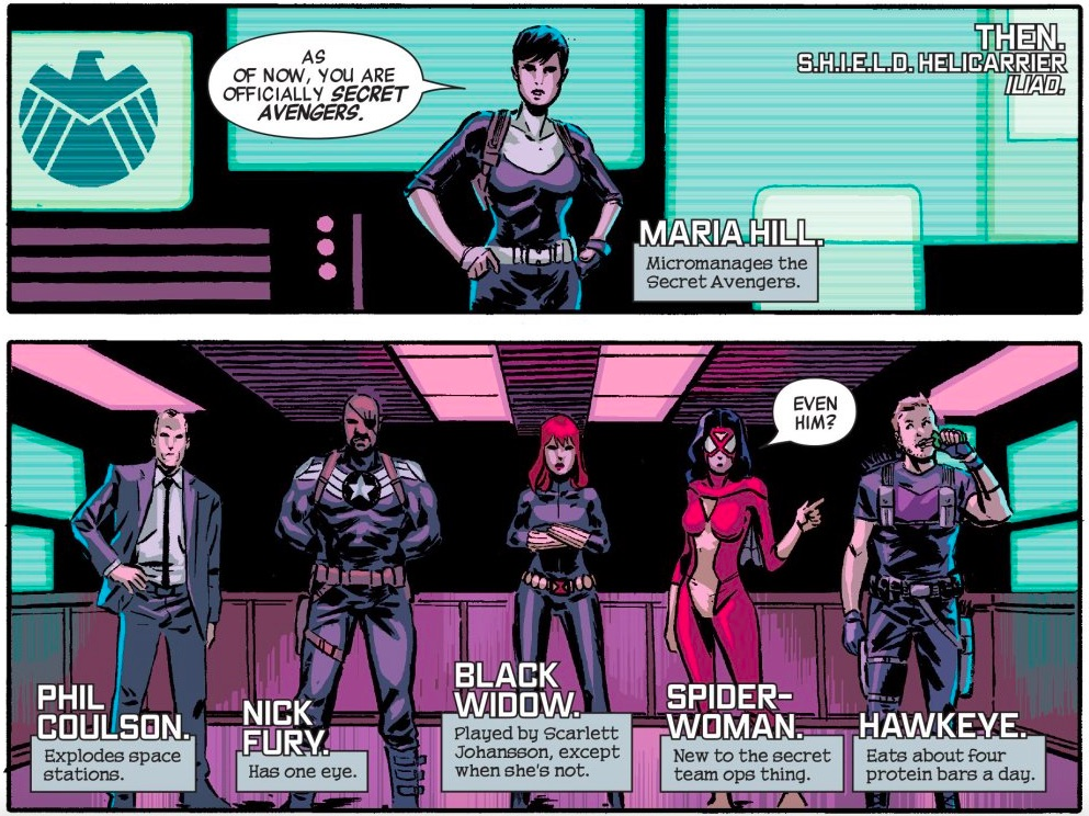 Secret Avengers in Marvel Comics.