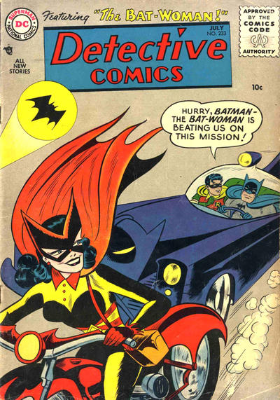 Detective Comics 233 first appearance of batwoman.