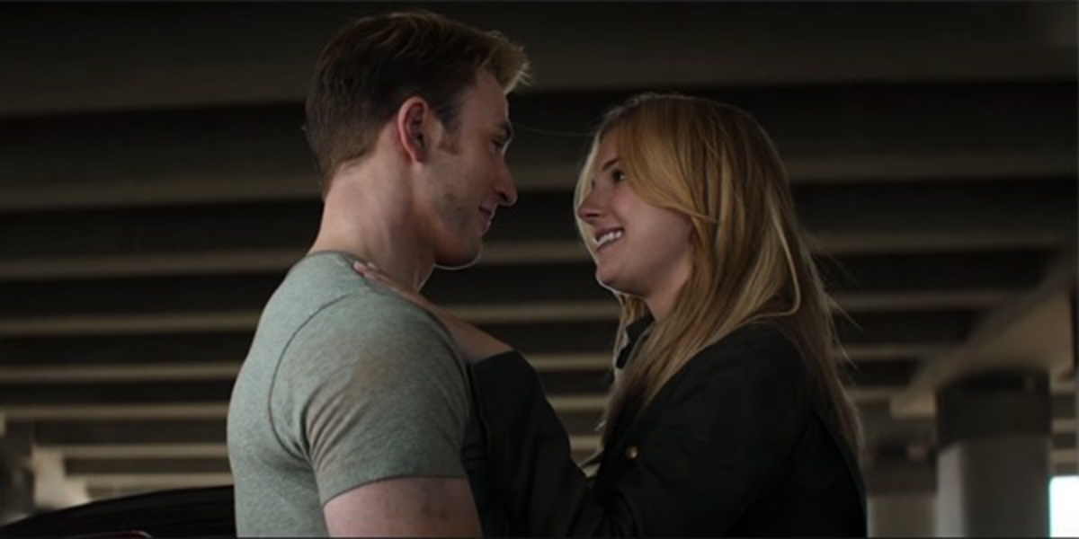 Steve's main love interest is Sharon Carter in the comics. Peggy is more like a passing love interest, similar to Sharon's role in MCU.
