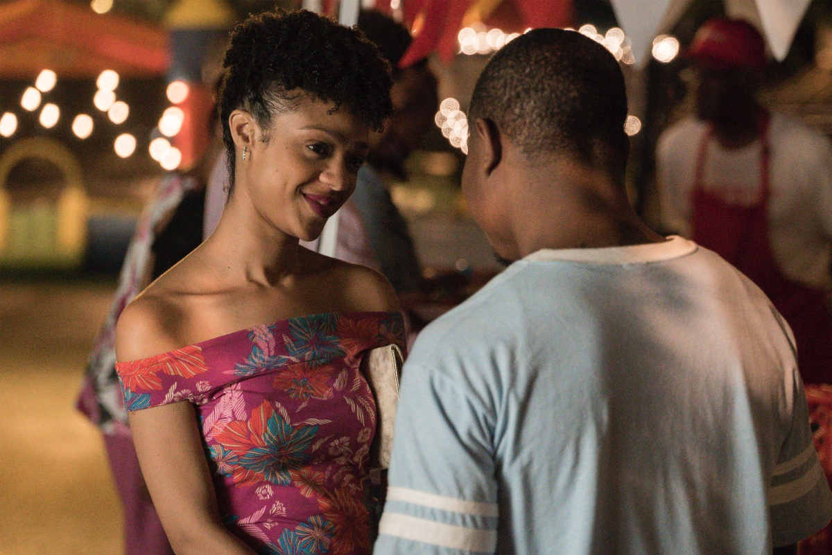Tiffany Boone and Jason Mitchell in The Chi (2018)