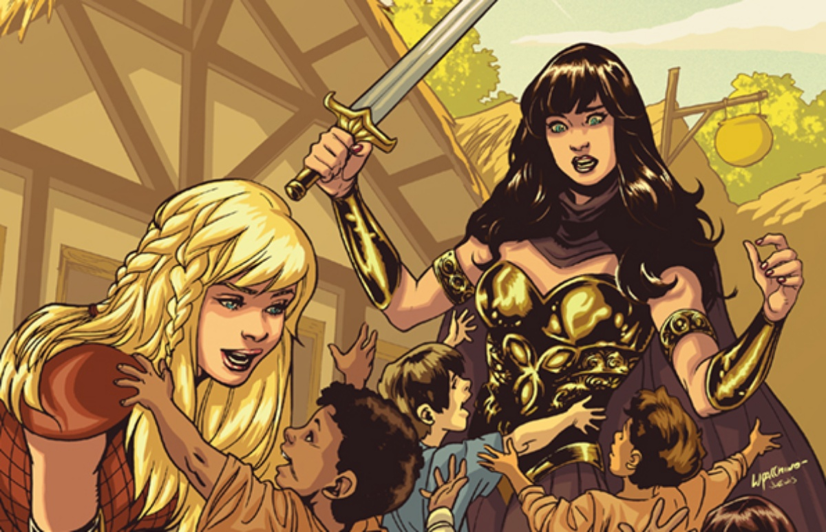 XENA: WARRIOR PRINCESS #1 - EMANUELA LUPACCHINO VIRGIN COVER