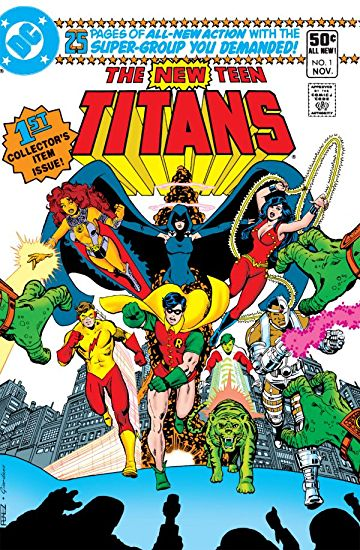 New Teen Titans comic cover.