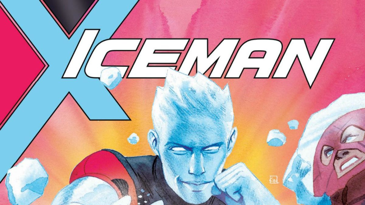 sina grace talks about marvel's lack of support for Iceman's gayness.iceman