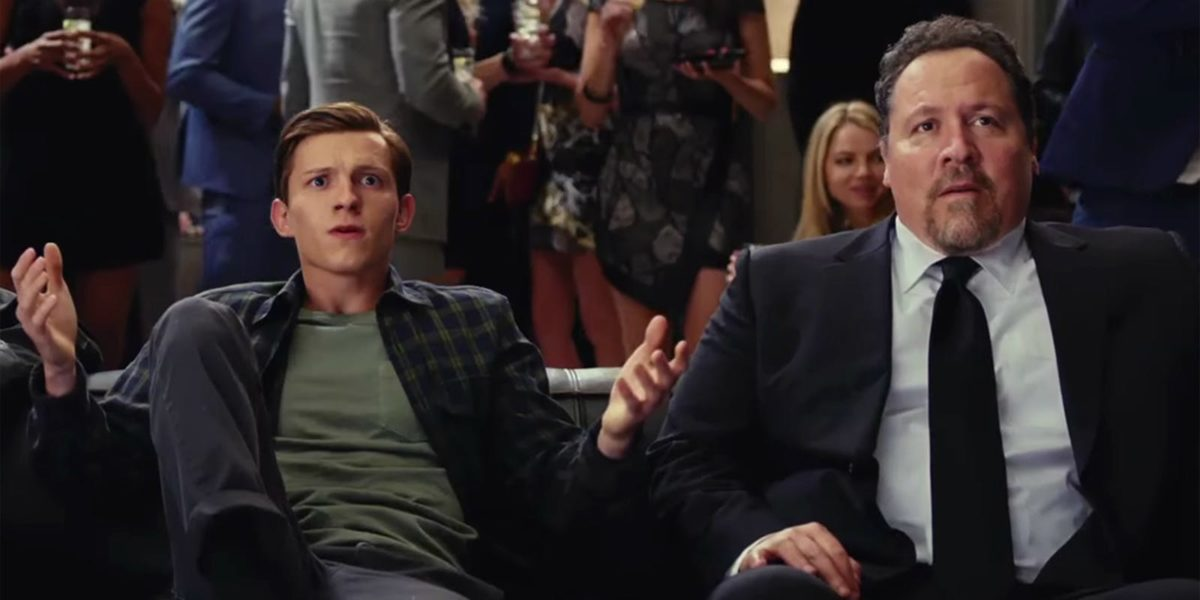 Peter Parker and Happy Hogan