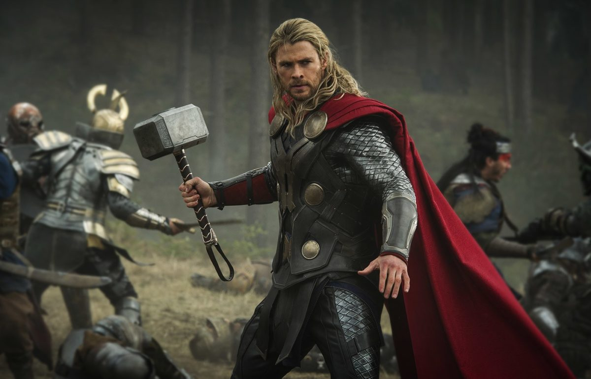 Thor in Marvel's Thor: The Dark World.