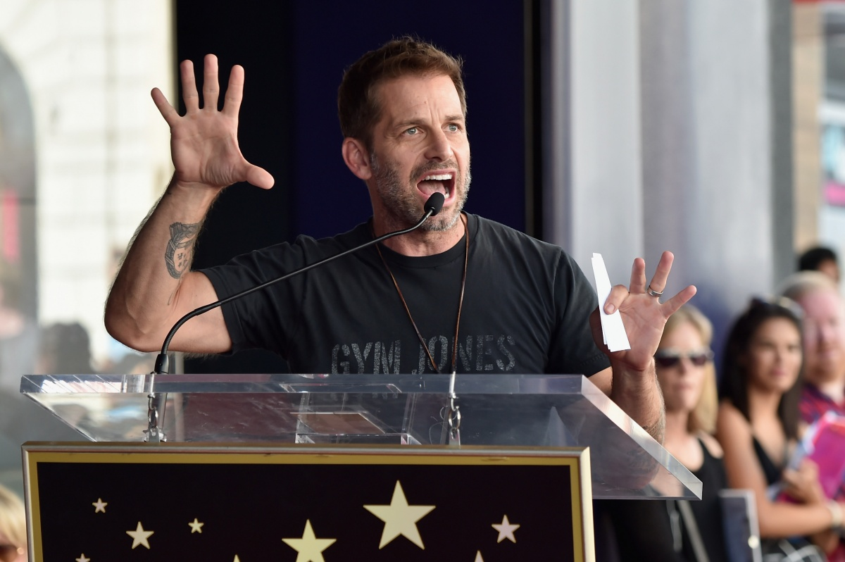 Director Zack Snyder attends a ceremony honoring Batman creator Bob Kane with the 2,562nd star on The Hollywood Walk of Fame on October 21, 2015 in Hollywood, California. (Photo by Alberto E. Rodriguez/Getty Images)