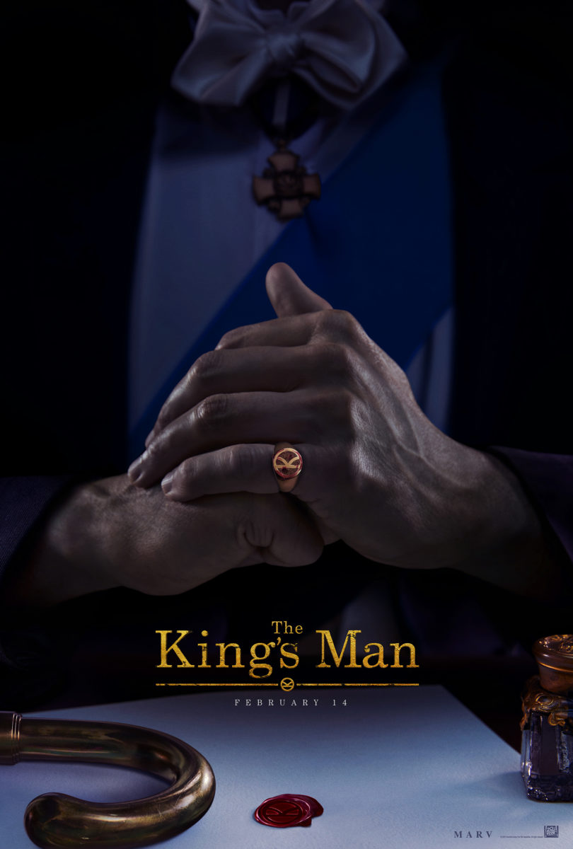 the king's man one sheet