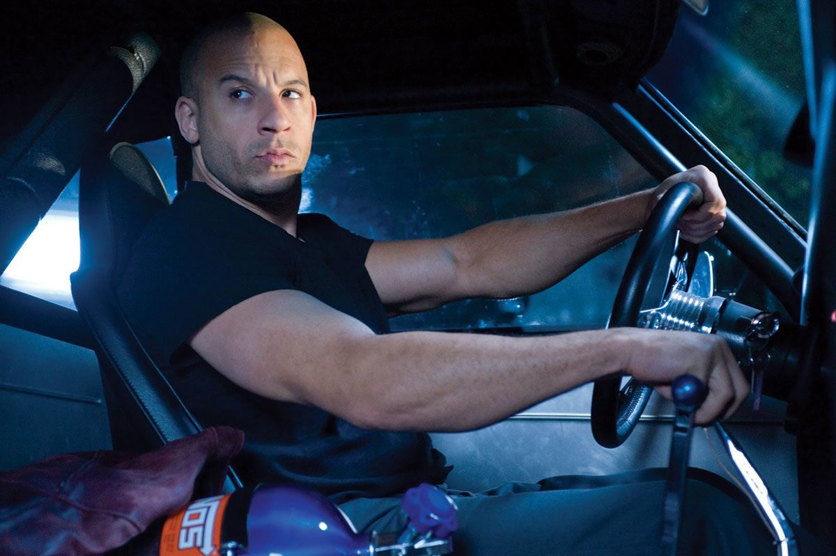 vin diesel as dom toretto in fate of the furious