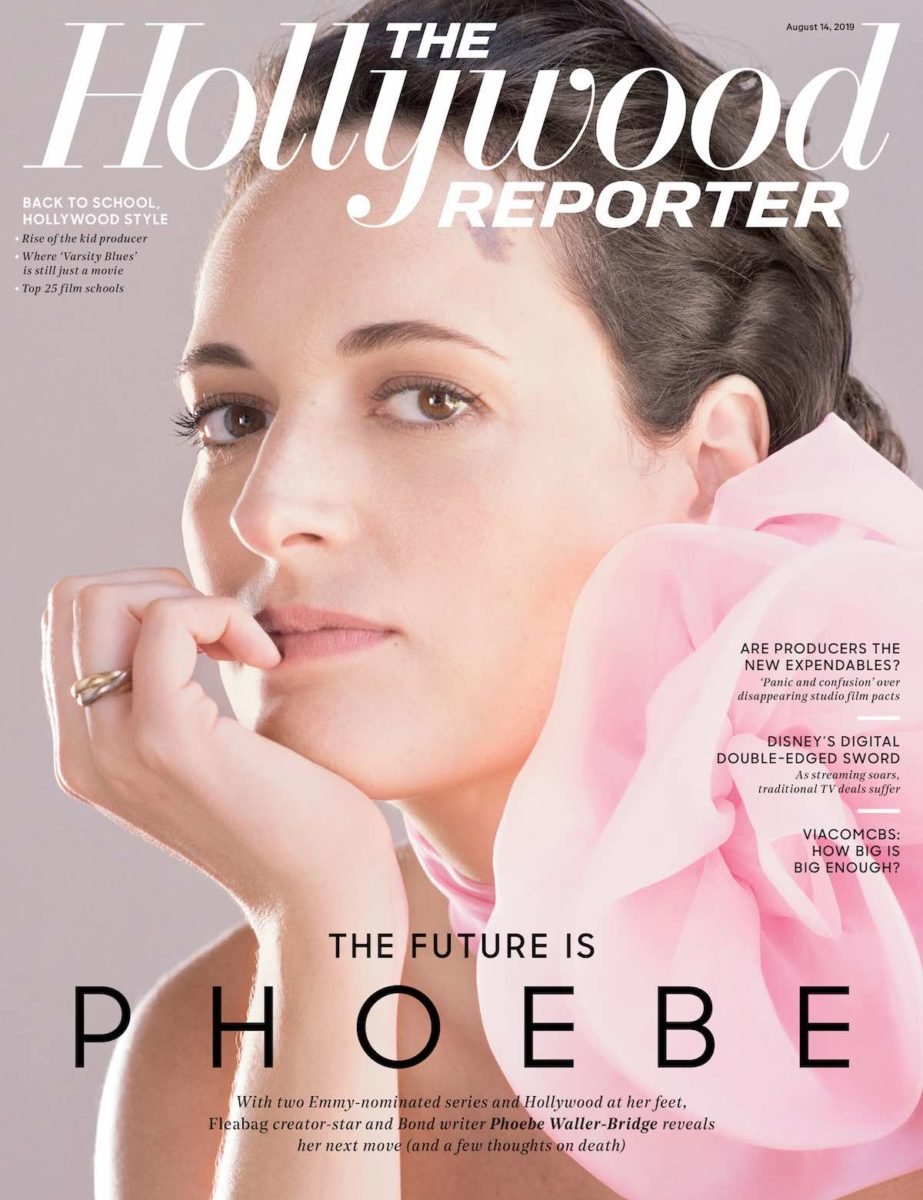 Phoebe Waller-Bridge on the cover of The Hollywood Reporter.