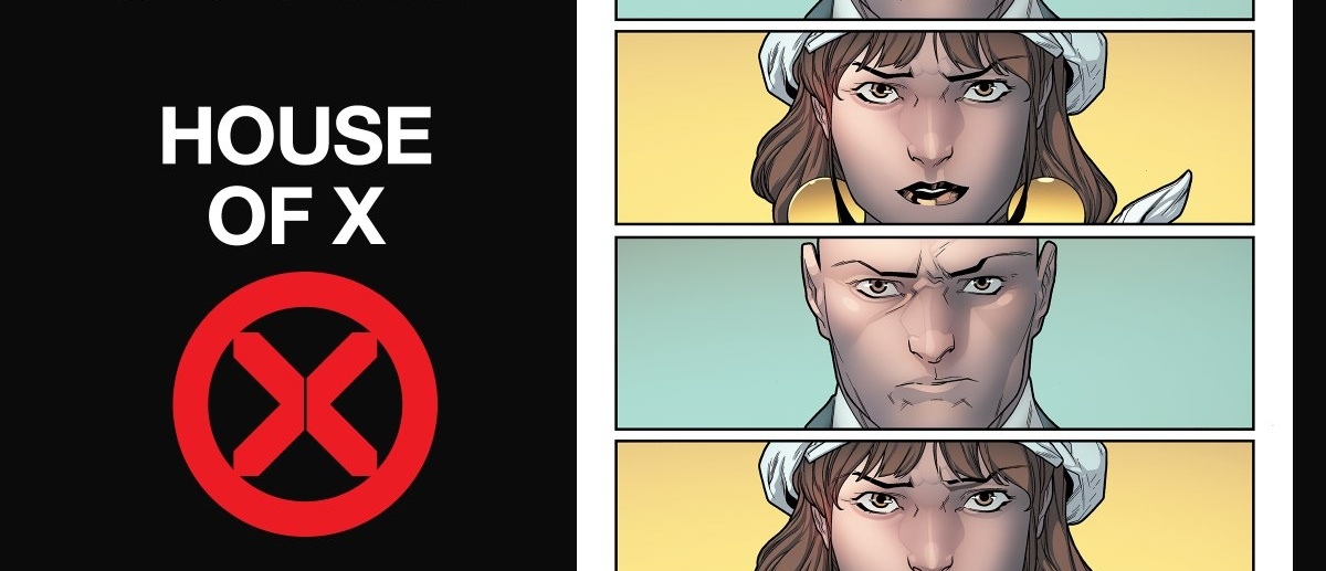 House of X #2, by Jonathan Hickman, Pepe Larraz, Marte Gracia, VC's Clayton Cowles and Tom Muller, on sale now.