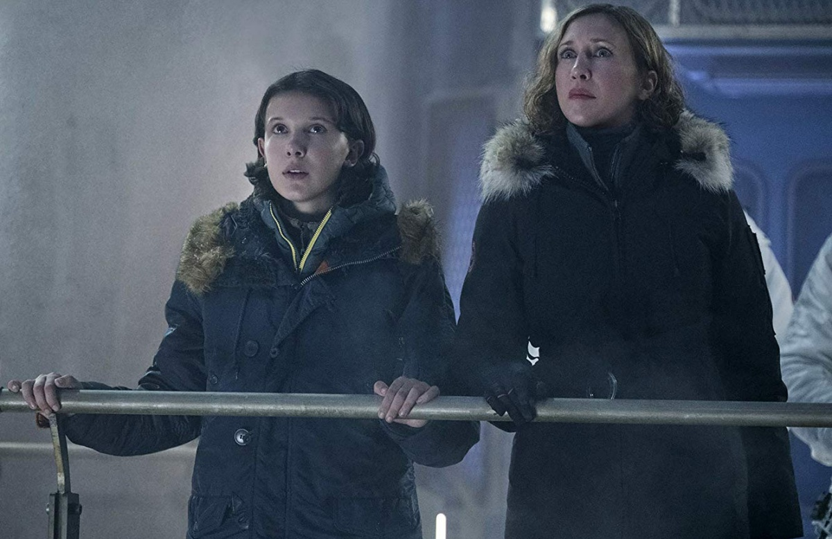 Vera Farmiga and Millie Bobby Brown in Godzilla: King of the Monsters (2019)