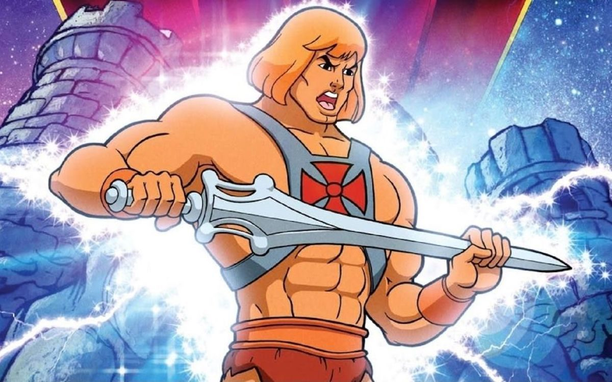 He-Man rubs his Power Sword.