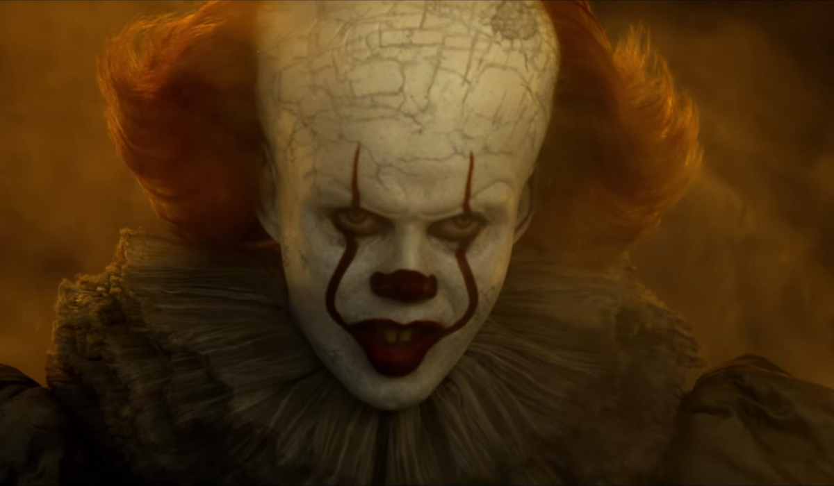 Pennywise is back and scarier than ever in IT Chapter Two.