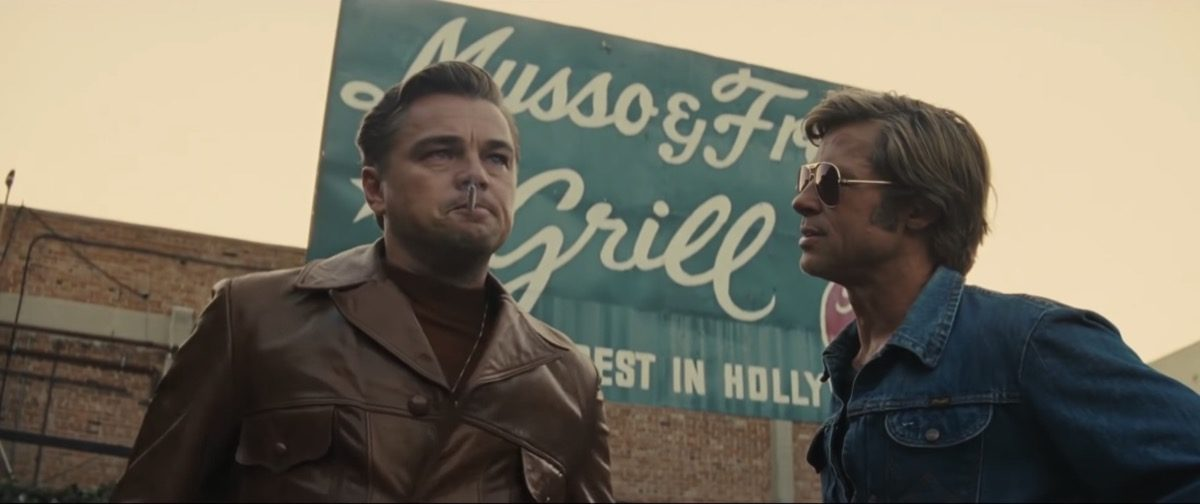 Rick and Cliff in Quentin Tarantino's Once Upon a Time in Hollywood.