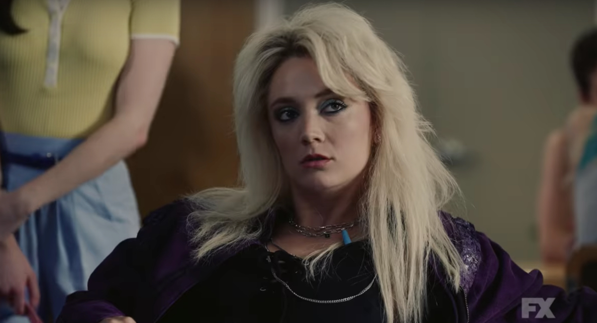Billie Lourd gets ready to steal the show again in AHS: 1984.