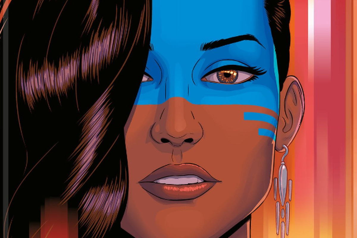Comic the wicked and the divine by Kieron Gillen and artist Jamie McKelvie