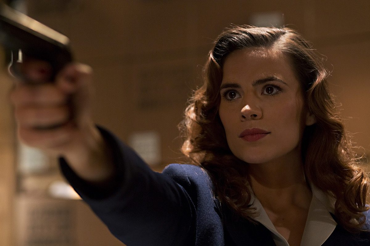 MARVEL'S AGENT CARTER - MARVEL'S AGENT CARTER, played by CAPTAIN AMERICA'S HAYLEY ATWELL follows the cliffhanger adventures of a post-WW2 era super-spy who has to hide her activities from everyone she knows, including her superiors.
