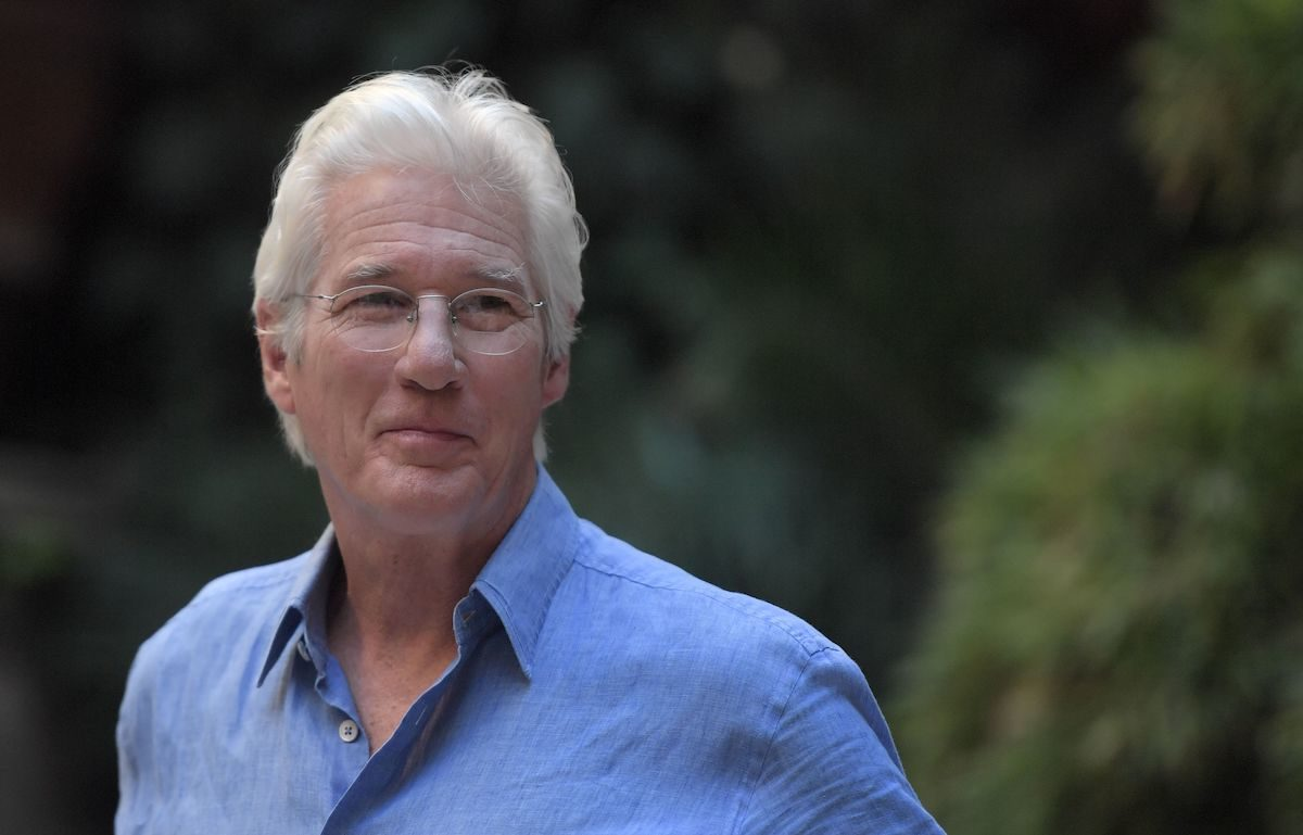 Richard Gere poses outdoors during a photocall.