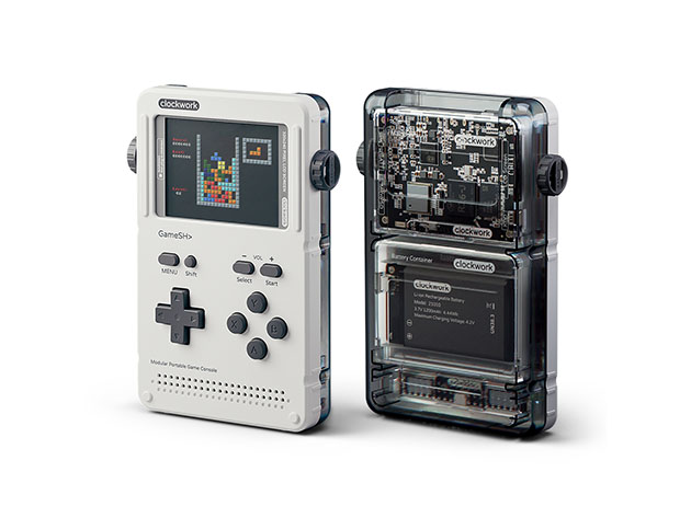 A Game Boy-shaped game emulator.