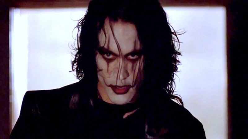 Brandon Lee in Th Crow