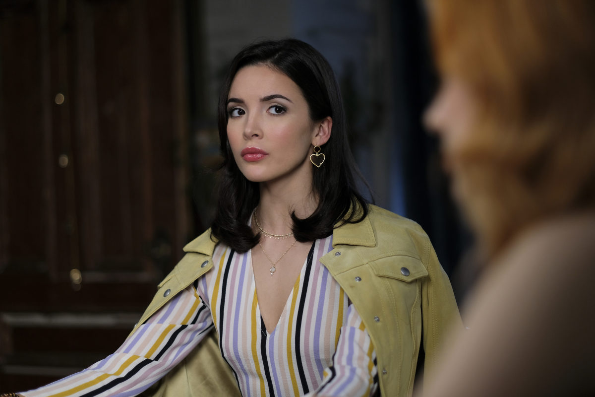 """Nancy Drew -- """"Pilot"""" -- Image Number: NCD101c_0202b2.jpg -- Pictured: Maddison Jaizani as Bess -- Photo: Robert Falconer/The CW -- © 2019 The CW Network, LLC. All Rights Reserved."""