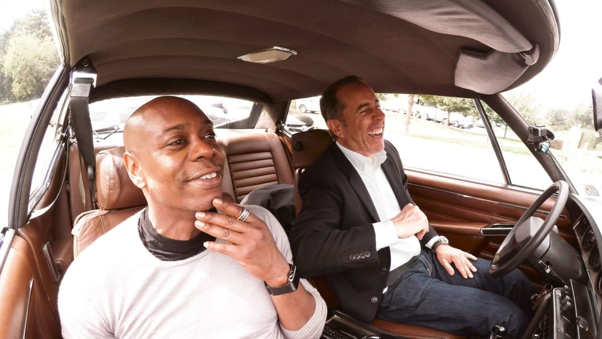 Dave Chapelle and Jerry Seinfeld