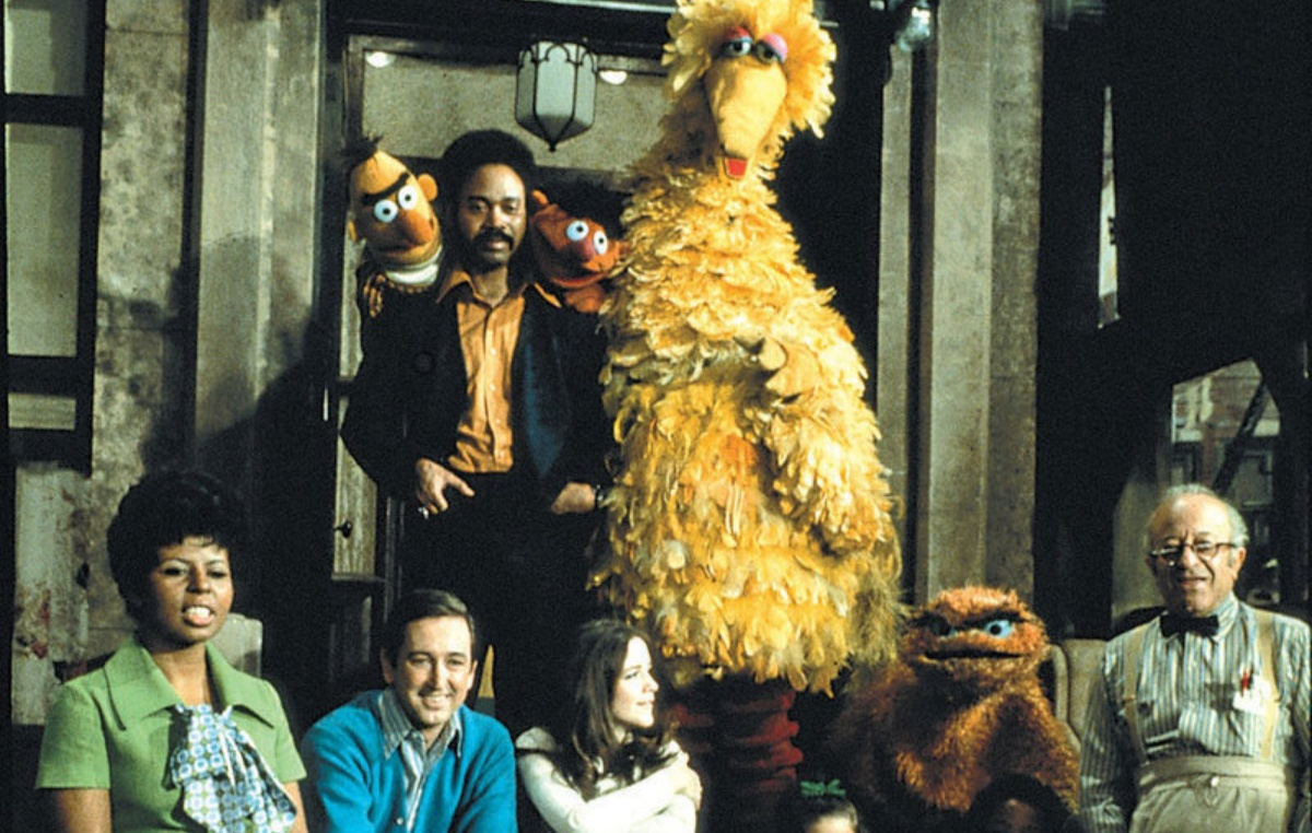 the original cast of sesame street back in the day