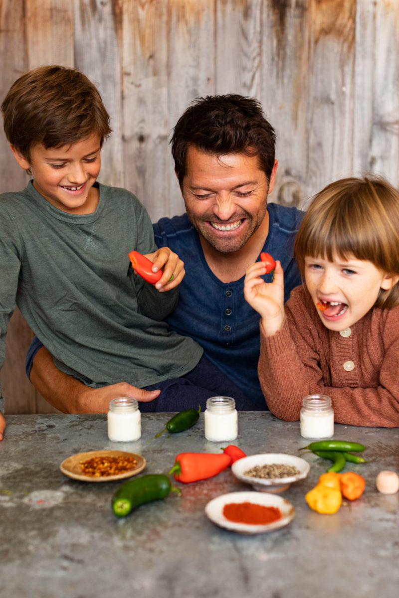 Interview Misha Collins Talks About Getting Kids to Eat Healthy ...