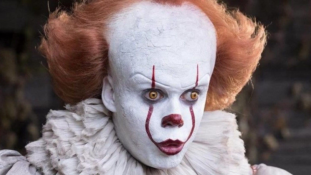 Bill Skarsgard as Pennywise in It