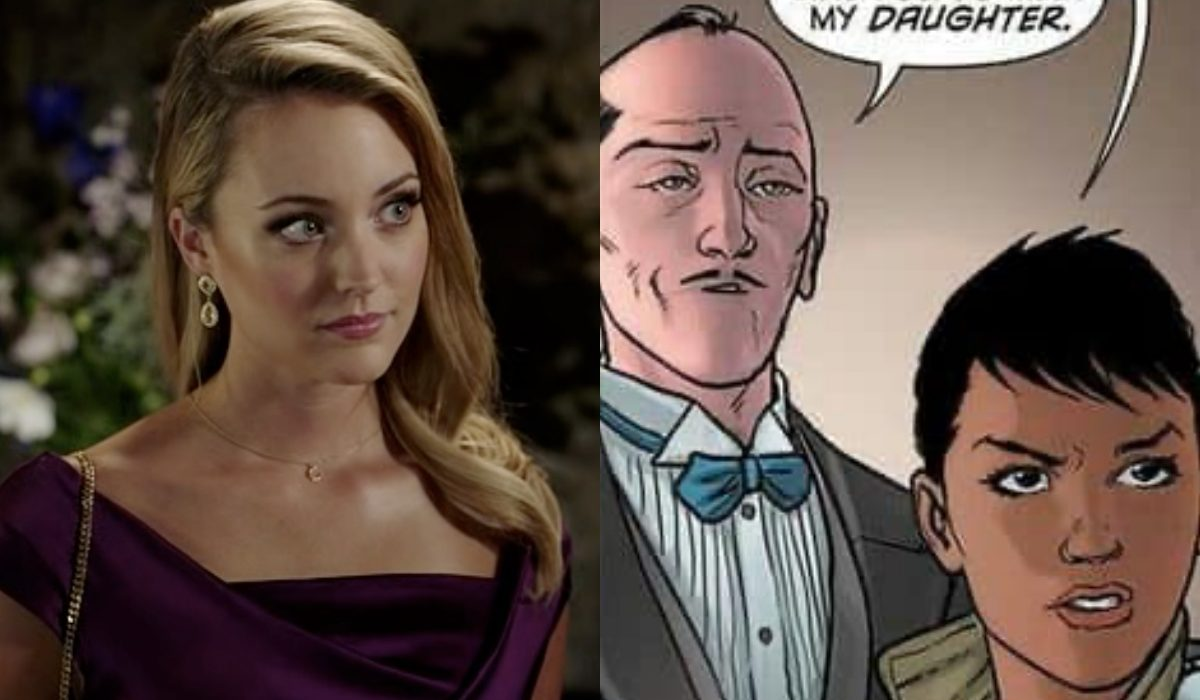 Christina Wolfe and actual Julia Pennyworth.