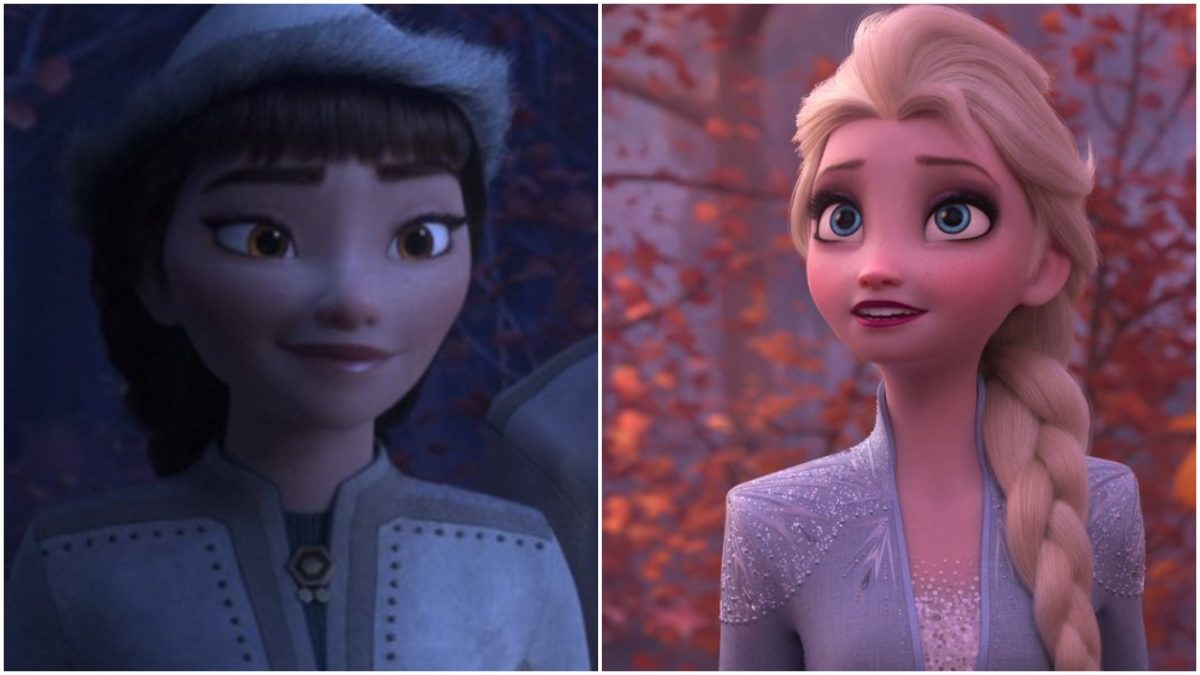 Honeymarren and Elsa in Frozen 2