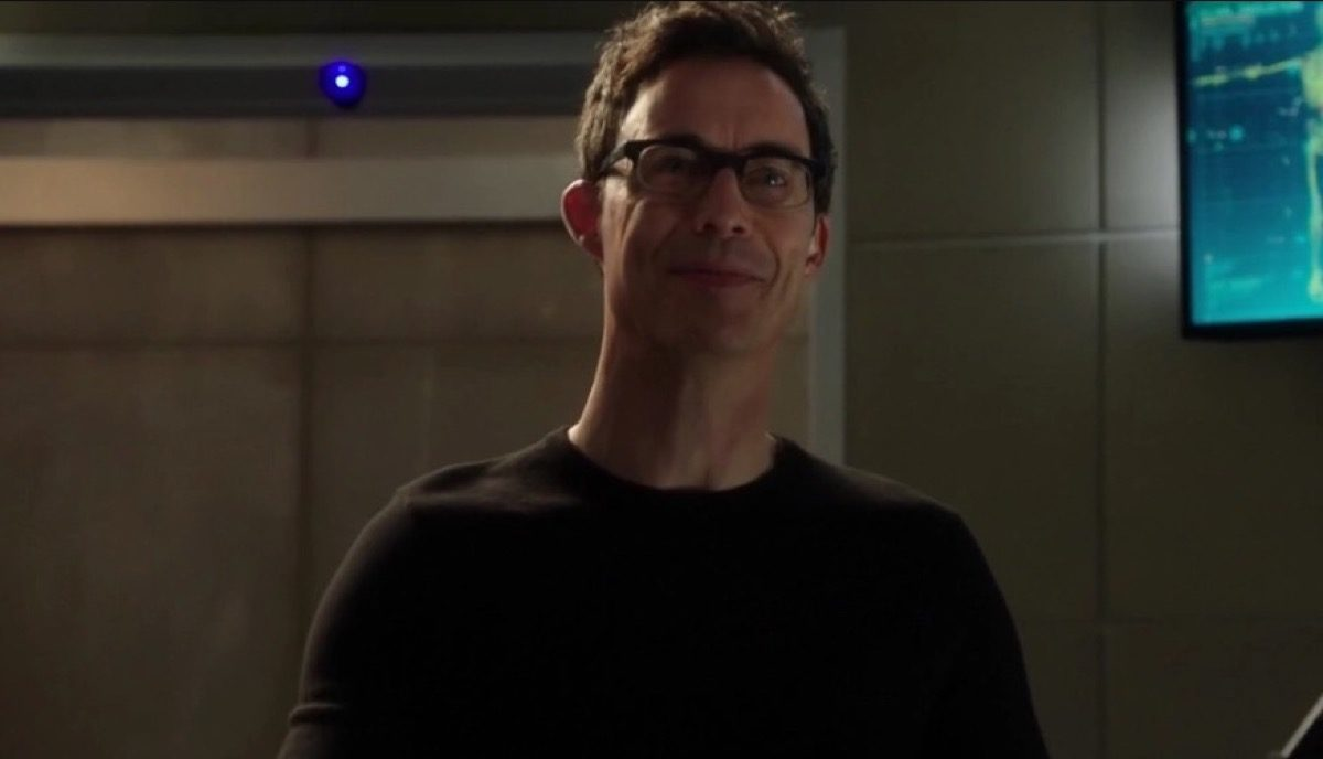 Eobard Thawne as Harrison Wells on The CW's The Flash.