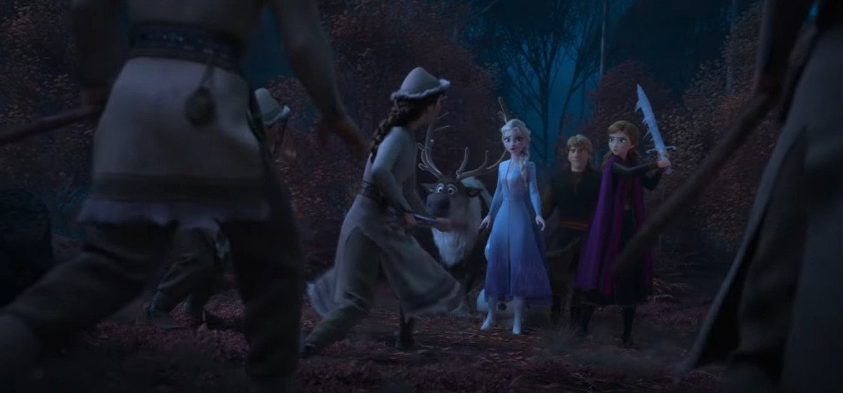 elsa faces the northuldra