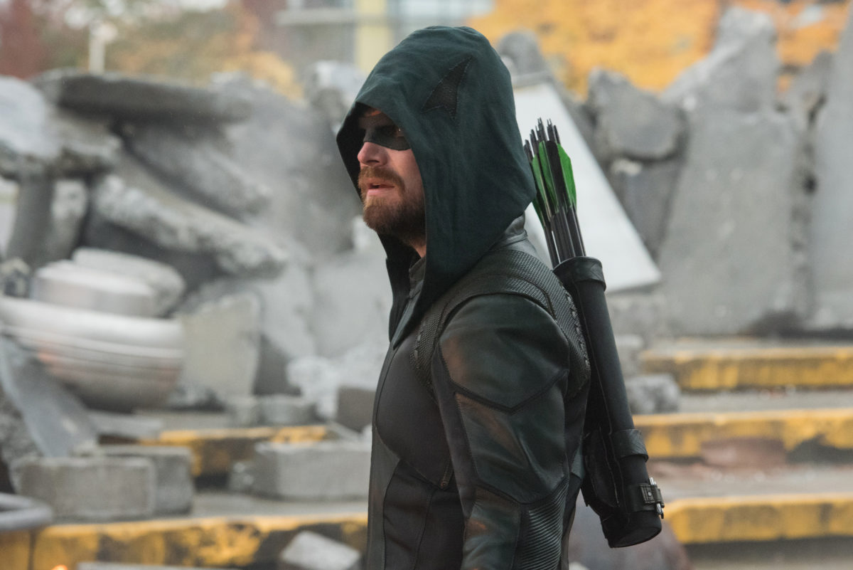 oliver in the rubble crisis