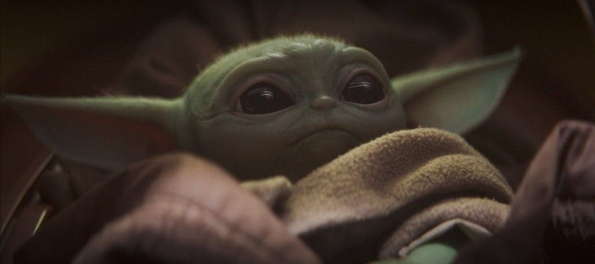 baby yoda ior something like it n the mandalorian