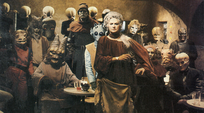 Bea Arthur in the Star Wars Holiday Special