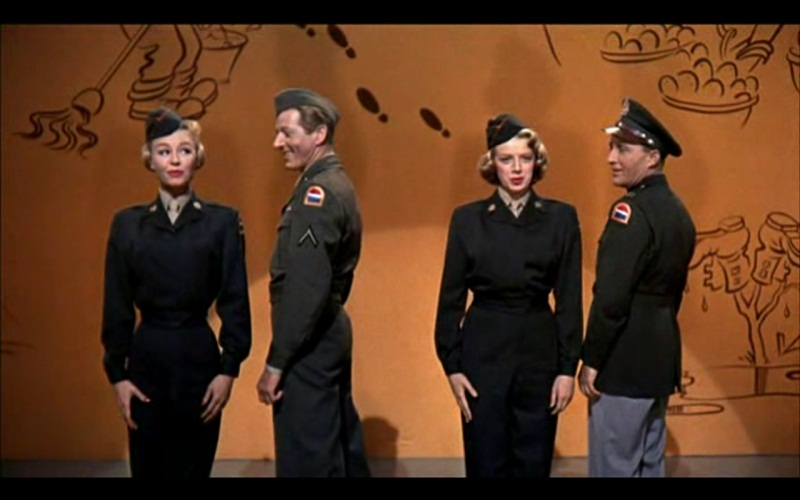 gee i wish i was back in the army in white christmas
