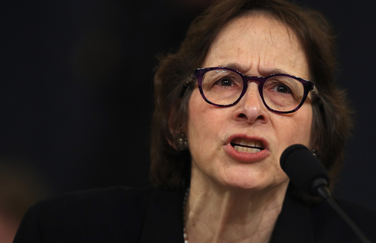 Constitutional scholar Pamela Karlan of Stanford University passionately testifies before the House Judiciary Committee