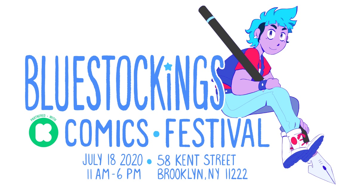 Bluestockings logo 2020