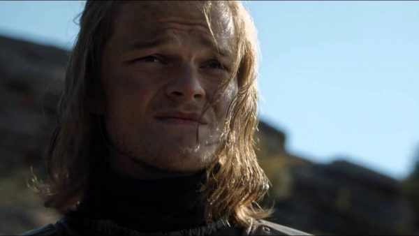 Robery aramatao in game of thrones as a young ned stark. HBO.
