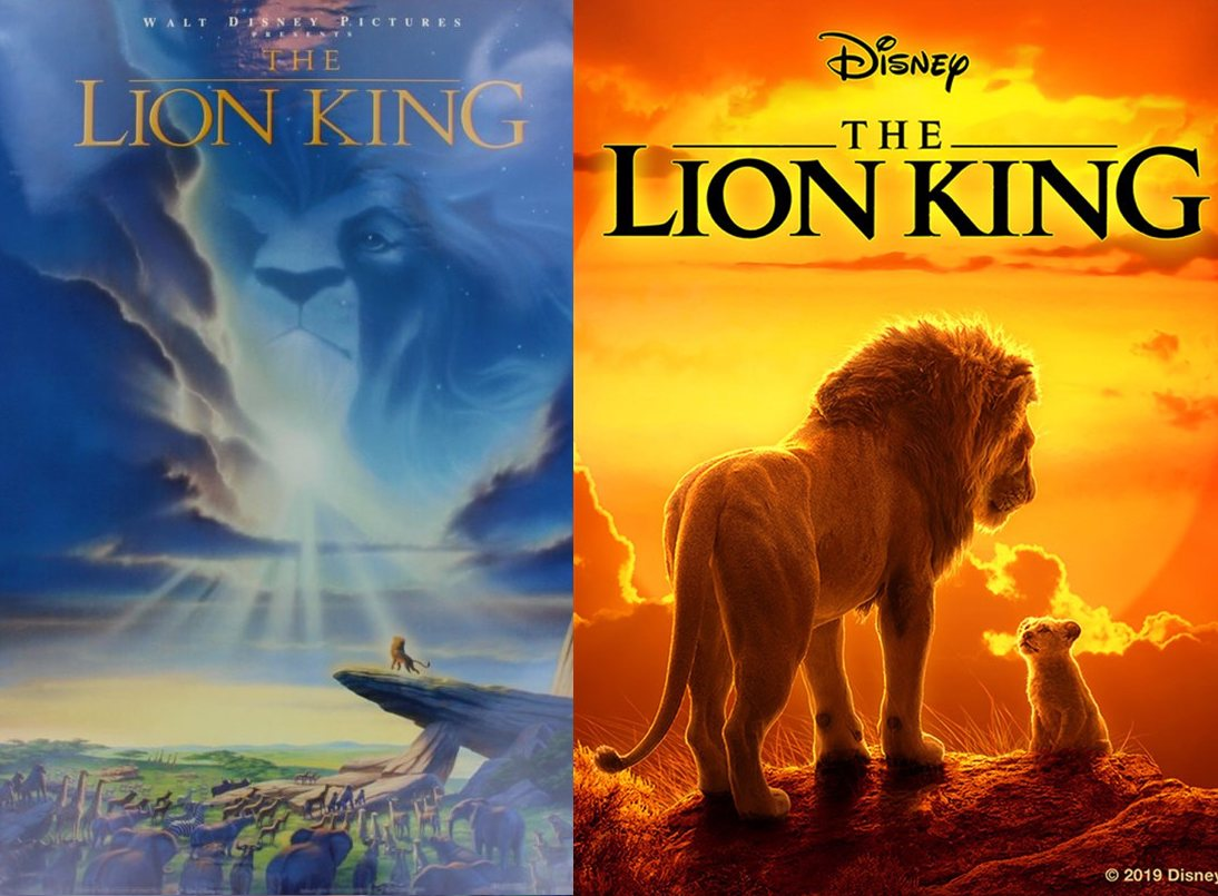 Disney's Lion King posters.