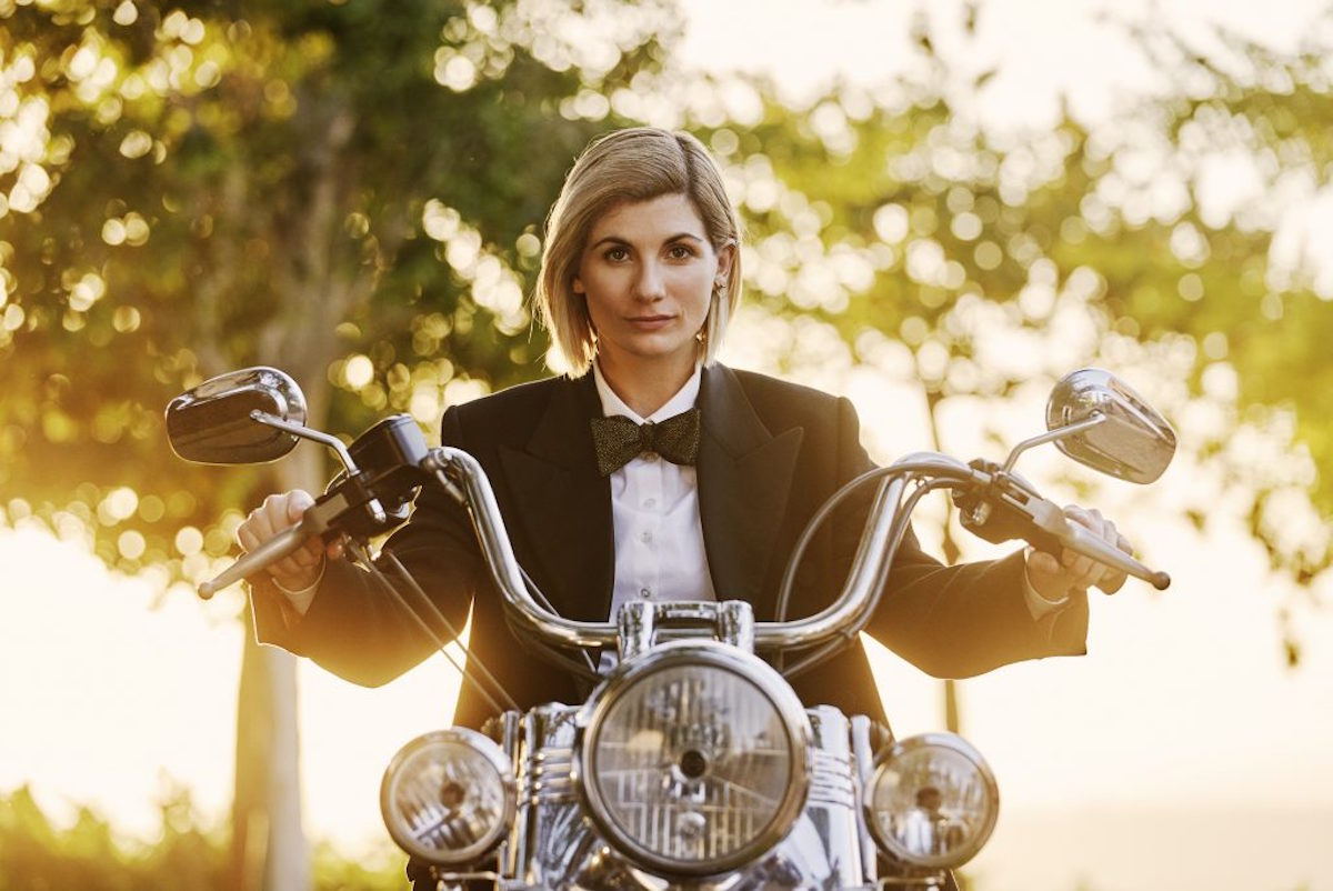 Jodie Whittaker as the Doctor in 'Spyfall'