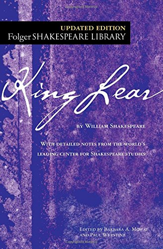 King Lear book cover.