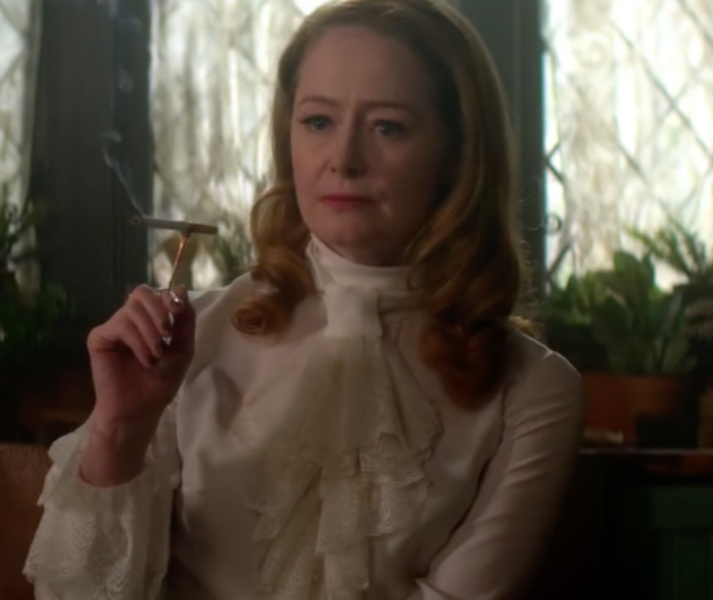 Miranda Otto as Zelda Spellman: the secret protagonist